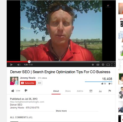 YouTube Vid Cap J Howie