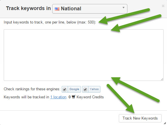SERPs-keyword-tracking