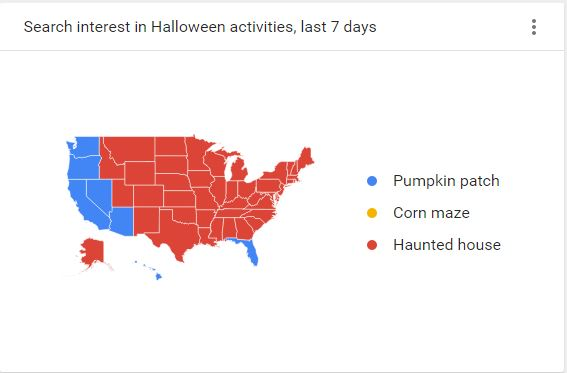 Halloween Activities by State